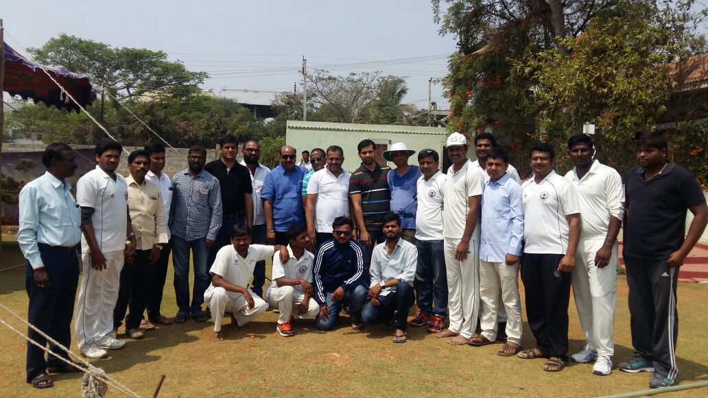 Late sri B.S Rao Memorial cricket Tournament conducted bt BARRDC